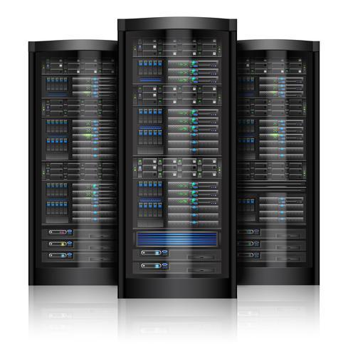 Server di rete isolati vettore