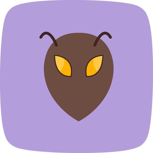 Icona di vettore alieno