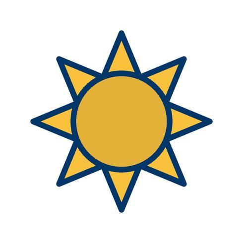 Icona di vettore di luminosità