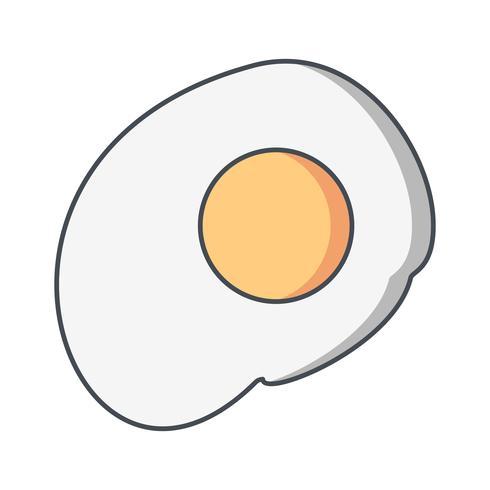Icona dell'uovo di vettore