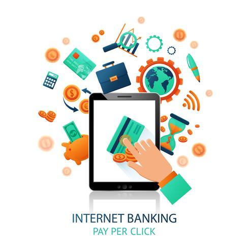Applicazione di Internet Banking vettore