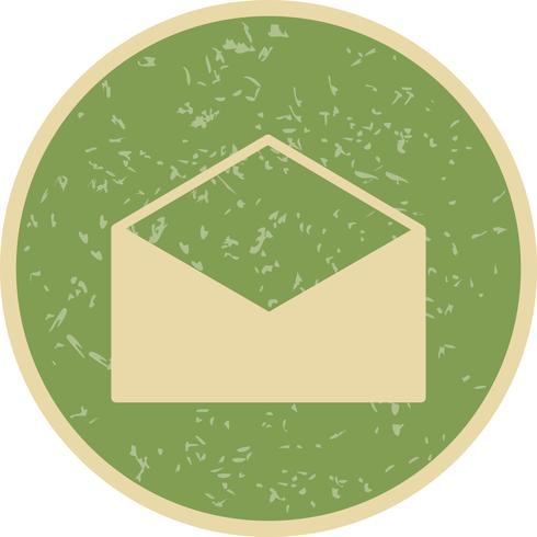 Icona di busta vettoriale