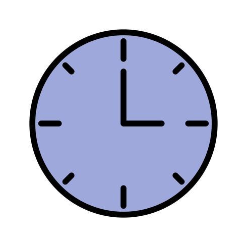 Icona dell'orologio vettoriale