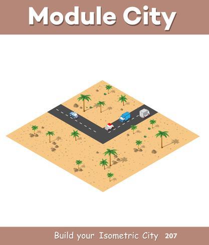 Moduli isometrici per la costruzione vettore
