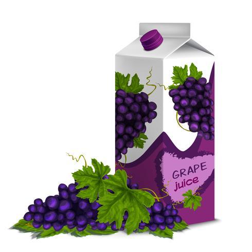Succo d'uva vettore