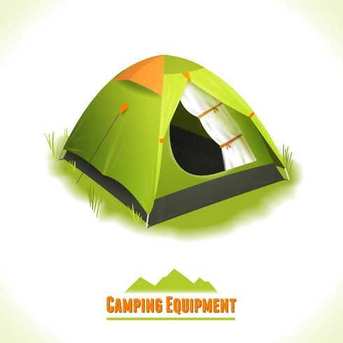 Tenda da campeggio vettore