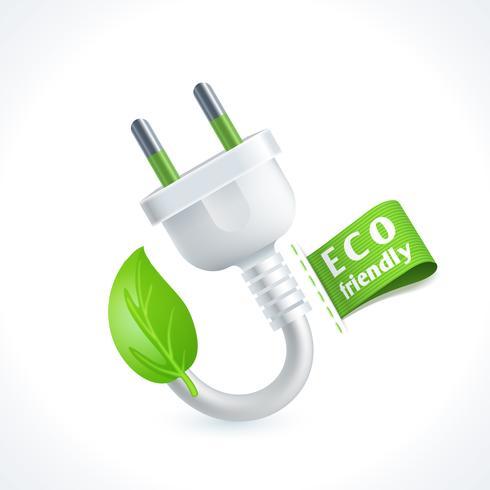 Spina simbolo ecologia vettore