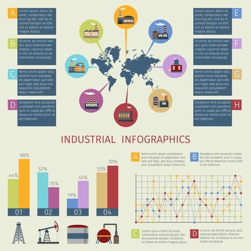 Set di infografica di energia vettore
