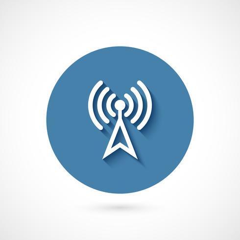 Icona Wi-fi isolata vettore
