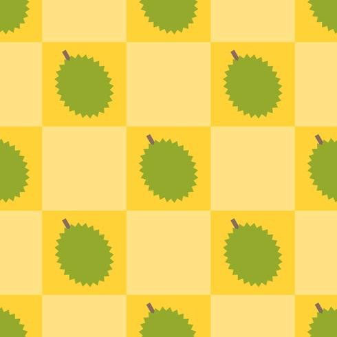 Modello senza cuciture del Durian per uso come regalo della carta da imballaggio vettore