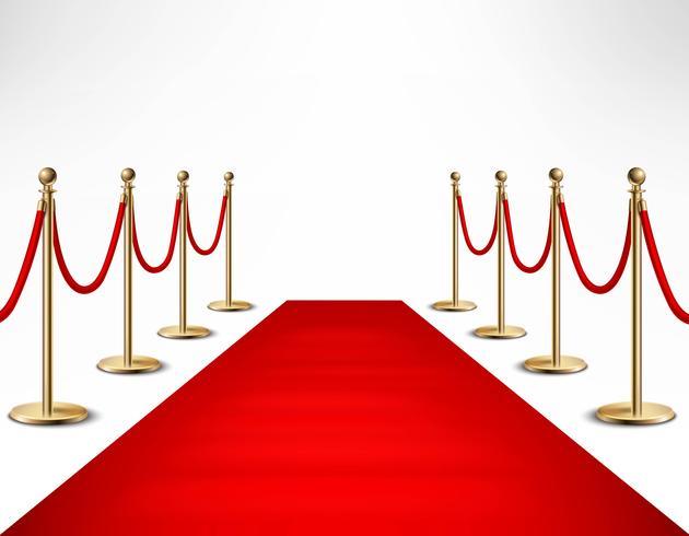 Banner di Red Carpet Celebrities Formal Event vettore