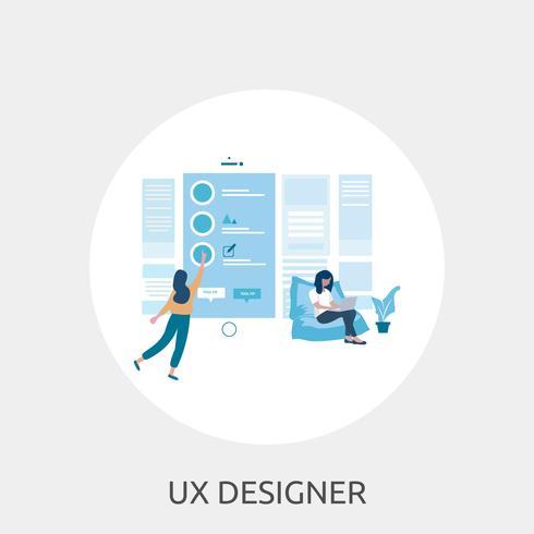 Progettazione concettuale Startup dell'illustrazione vettore
