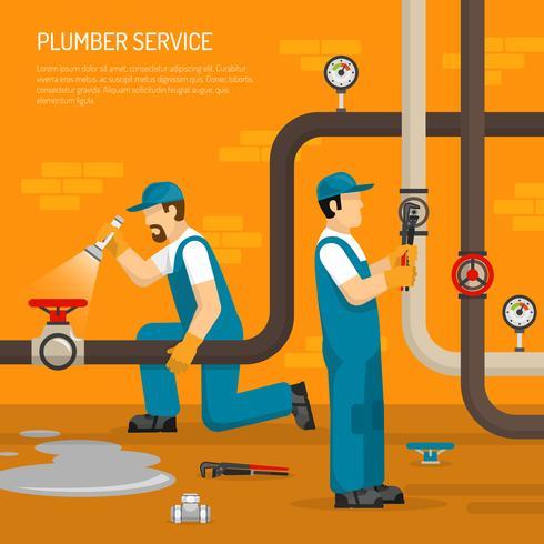 Ispezione della composizione della pipeline vettore