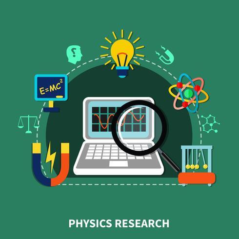 Elementi di ricerca sulla fisica vettore