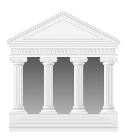 illustrazione di stock di arco antico vettore