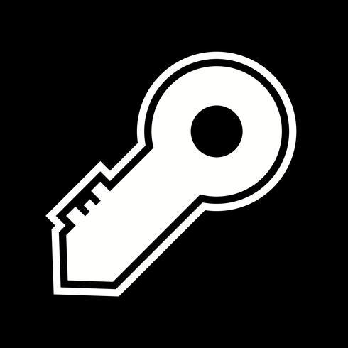Disegno dell'icona chiave vettore
