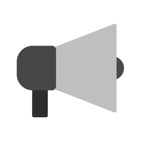 Design dell'icona di annuncio vettore