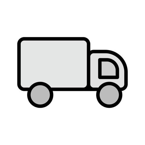 disegno dell'icona del camion vettore
