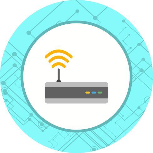 disegno dell'icona di wifi vettore