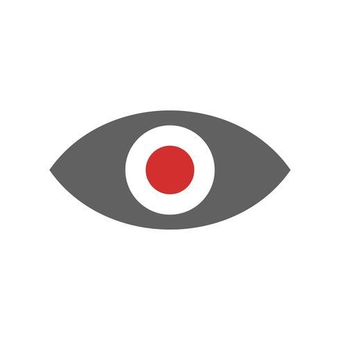 Visualizza Icon Design vettore