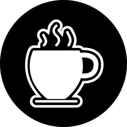 Disegno dell'icona del tè vettore