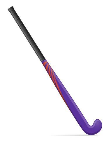 illustrazione vettoriale di campo hockey su bastone