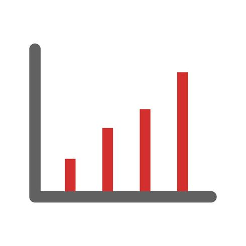 Disegno dell'icona di statistiche vettore