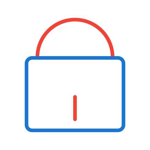 Disegno dell'icona di sicurezza vettore
