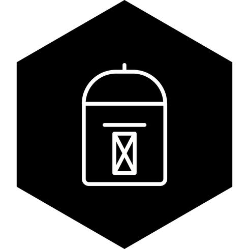 disegno dell'icona postbox vettore