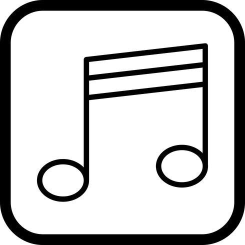 Disegno dell'icona multimediale vettore