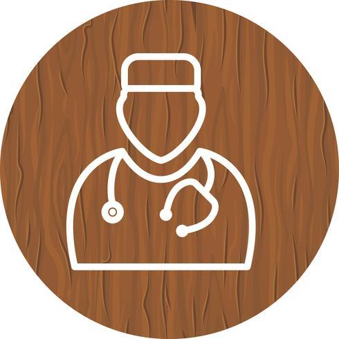 disegno dell'icona del medico vettore