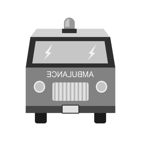 Disegno dell'icona dell'ambulanza vettore