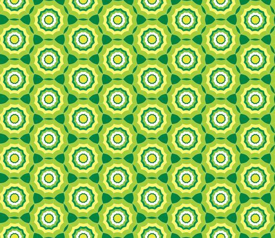 Motivo geometrico senza soluzione di continuità. Ornamento astratto vettore