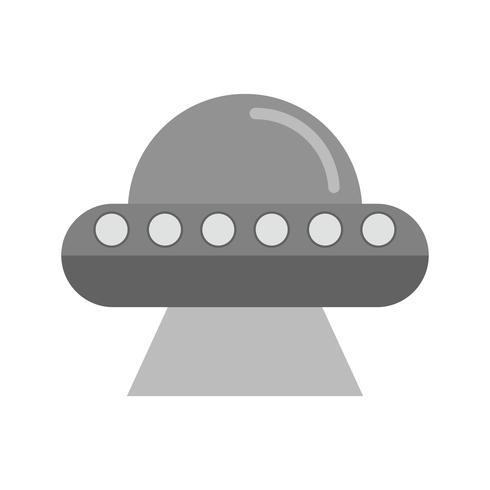 disegno dell'icona del ufo vettore