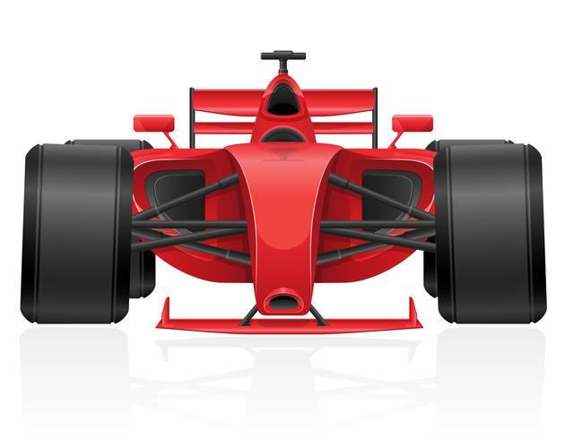 illustrazione di vettore dell'automobile da corsa ENV 10