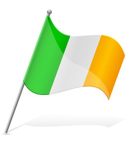bandiera dell'Irlanda illustrazione vettoriale