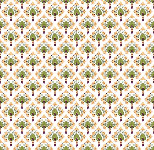 Astratto trama floreale senza soluzione di continuità. Elegante motivo floreale orientale vettore
