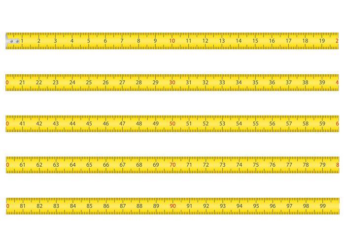 nastro di misurazione per l'illustrazione di vettore di roulette strumento