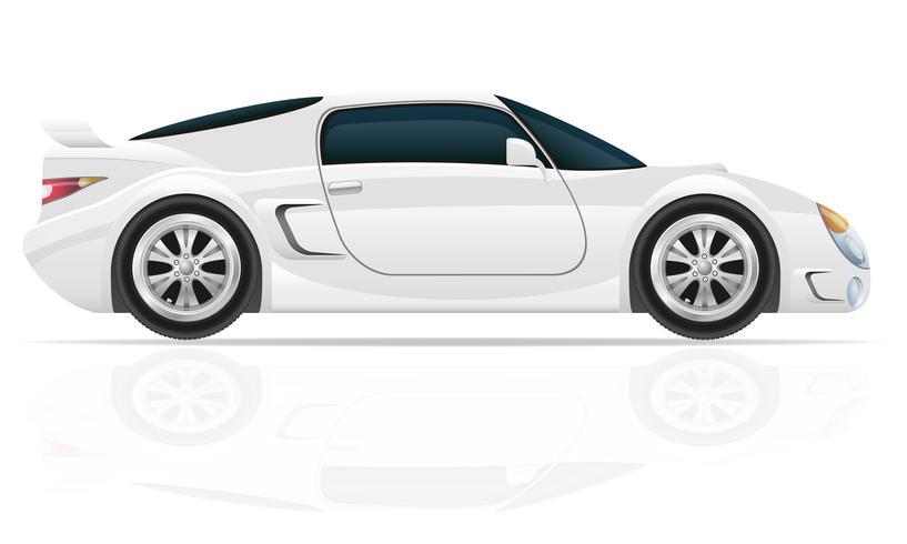 illustrazione vettoriale di auto sportiva