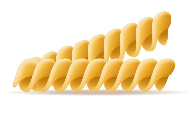 illustrazione vettoriale di pasta