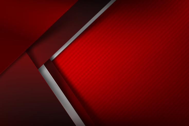 Sfondo astratto rosso scuro e nero si sovrappongono 001 vettore