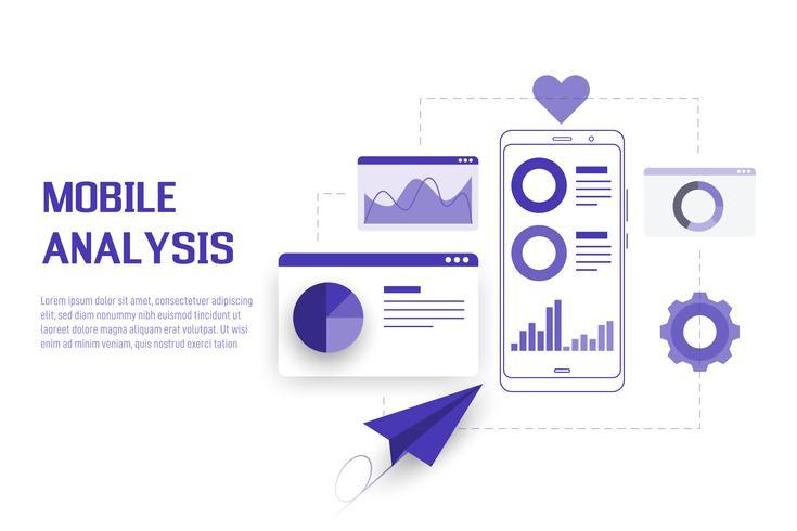Analisi dei dati mobili vettore