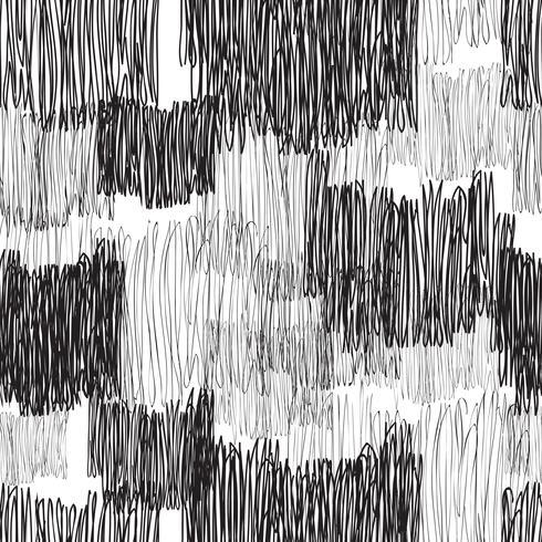 Modello senza cuciture geometrico astratto. Linea trama piastrelle disegnate vettore
