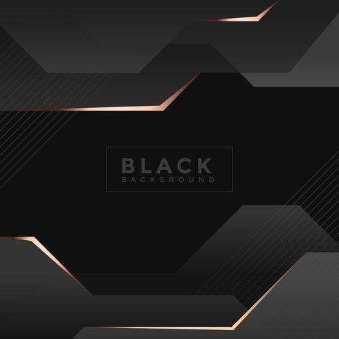 Vettore sfondo nero
