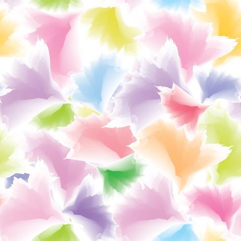 Trama di petali Sfondo floreale Modello di fiore natura astratta vettore