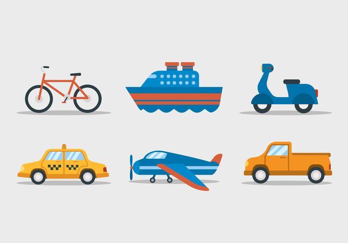 Clipart del trasporto vettore