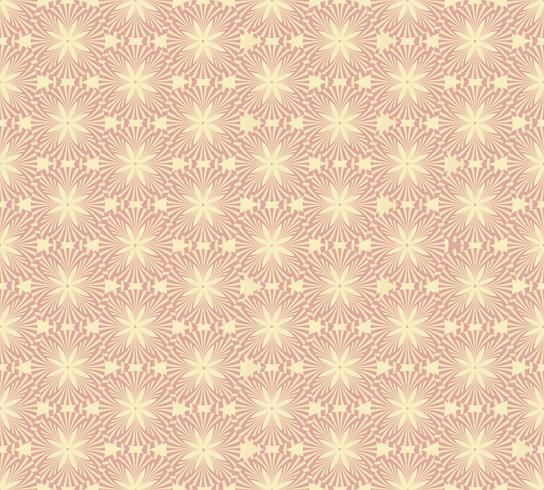 Linea astratta senza cuciture. Sfondo geometrico orientale piastrellato vettore