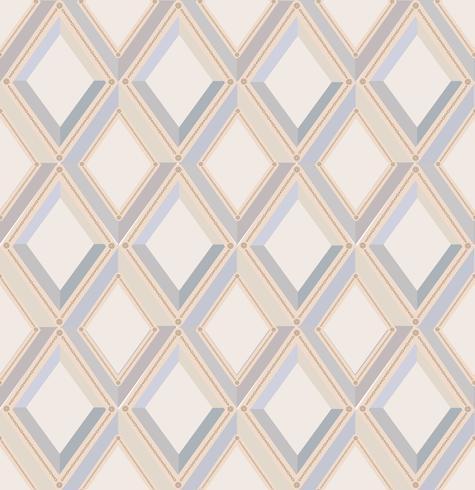 Modello senza saldatura diamante. sfondo geometrico diagonale vettore