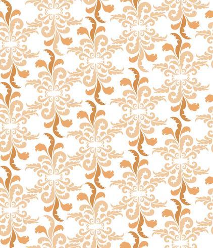 Motivo floreale astratto Elegante ornamento geometrico senza soluzione di continuità vettore