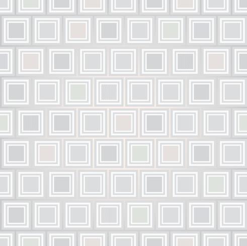 Astratto sfondo senza soluzione di continuità. Forma quadrata. Motivo geometrico vettore